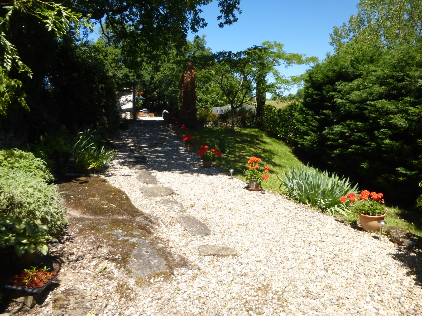 LA SALESSE Pathway to Pool 2